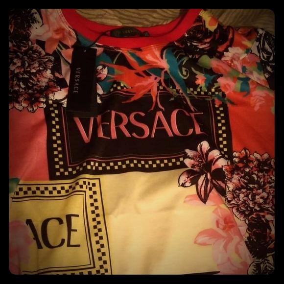 3ad828b36 Versace Shirts | T Shirt Tshirt | Poshmark